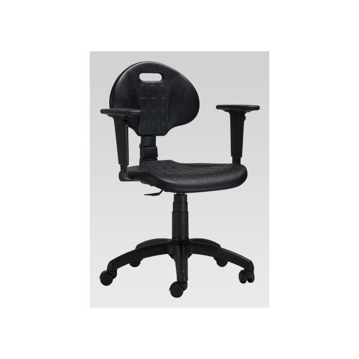 60e27bab6a37 Polyuretánová dielenská stolička 1290 PU MEK 4009 Kancelársky nábytok