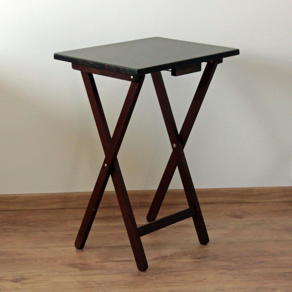 cf953317b507 Skladací stolík drevený