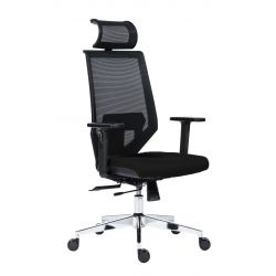 0e2b88f76e5cb Kancelárska stolička EDGE čierná Antares